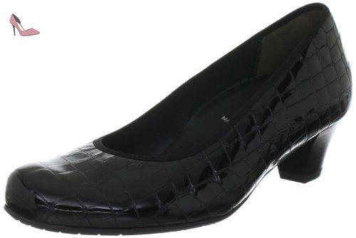 Grace, escarpins femme, Noir (001 Schwarz), Taille 38Semler