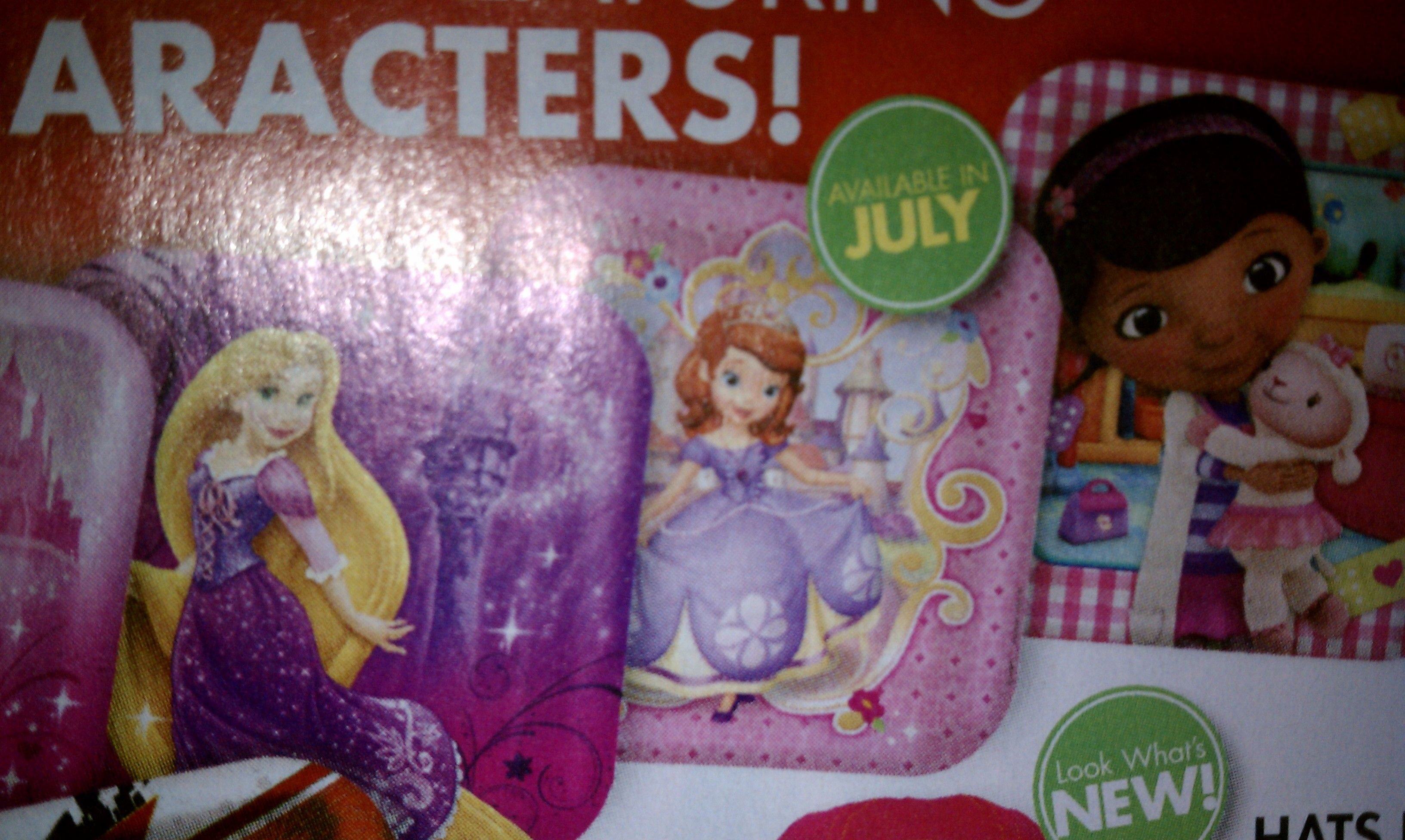 SOFIA THE FIRST PARTY SUPPLIES AVAILABLE AT PARTY CITY IN JULY ...