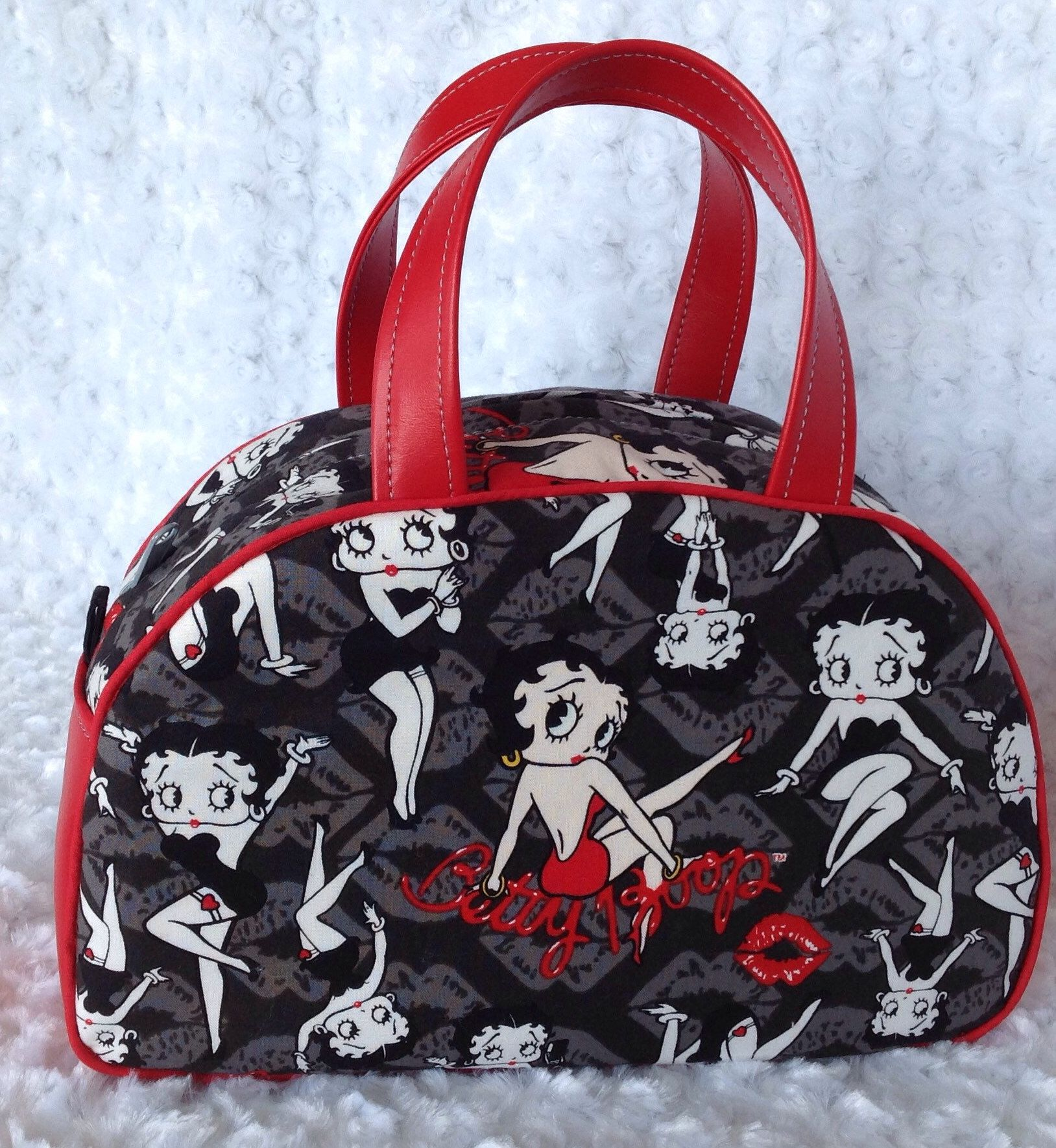 Betty Boop Black Crock Bag Designer