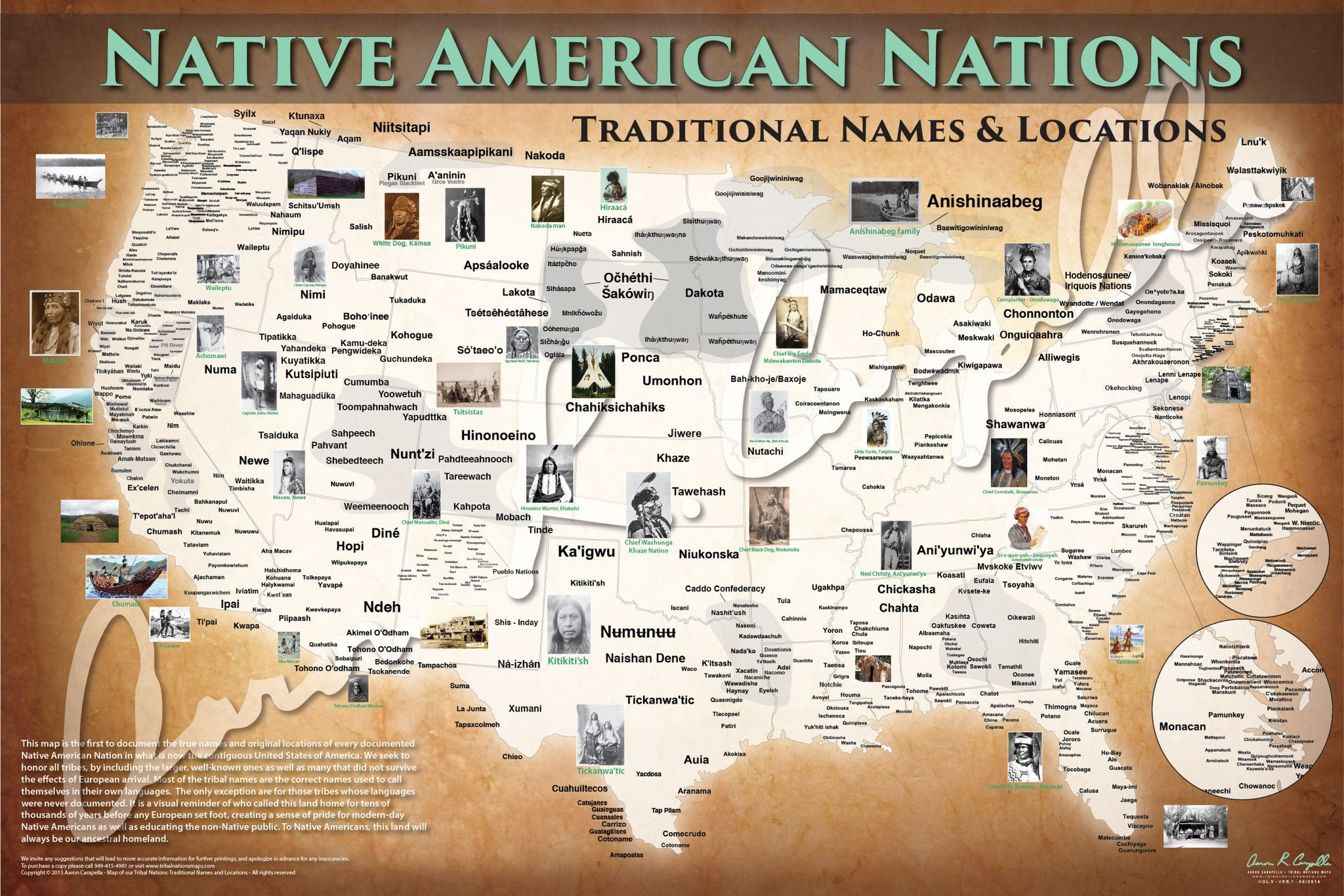 native american tribes map migrations