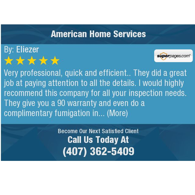 Very Professional Quick And Efficient They Did A Great Job At Paying Attention To All This Or That Questions Home Inspection Tlc