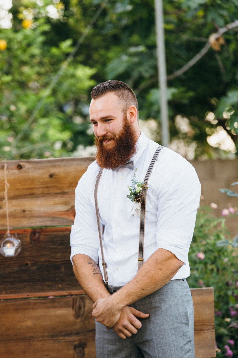 8 wedding suits for grooms that arent super fancy groom