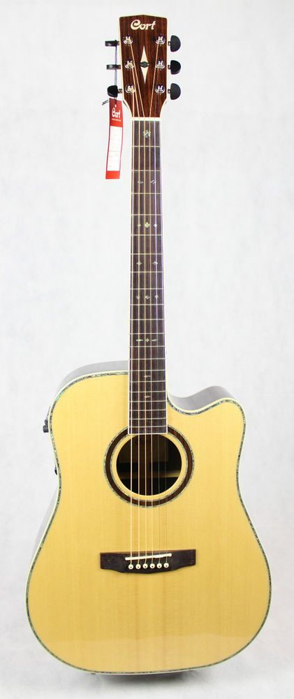 Electro Acoustic Guitar Cort Mr740fx Natural Electro Acoustic Guitar Acoustic Guitar Guitar