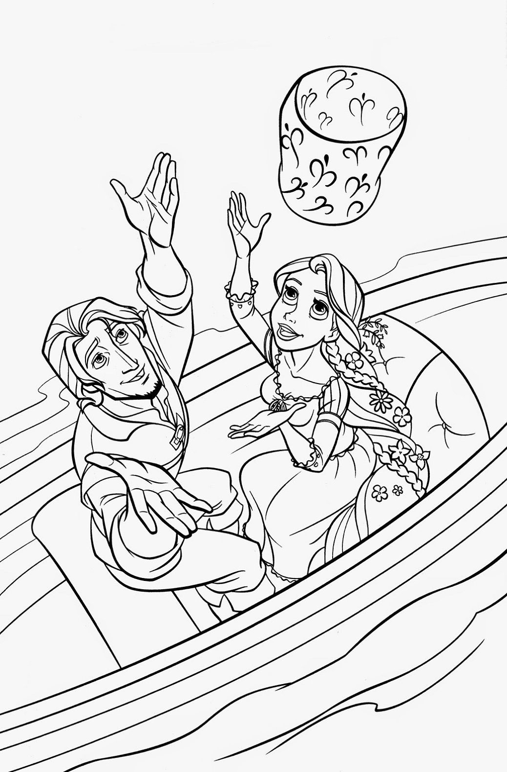 Tangled Coloring Pages Printables Tangled Coloring Pages Princess Coloring Pages Rapunzel Coloring Pages