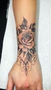 Photo of Lotus Arm Sleeve Tattoo Ideas for Women at MyBodiArt.com – Tribal Mandala A …  #Arm #Ideas …