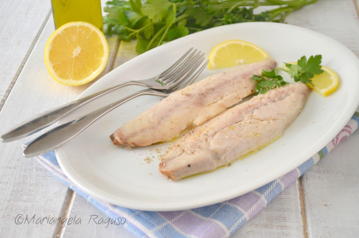 ricetta dieta di pesce bollito