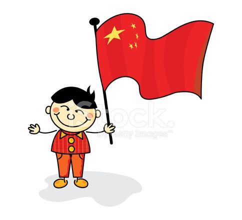 Nios de bandera China  china  Pinterest