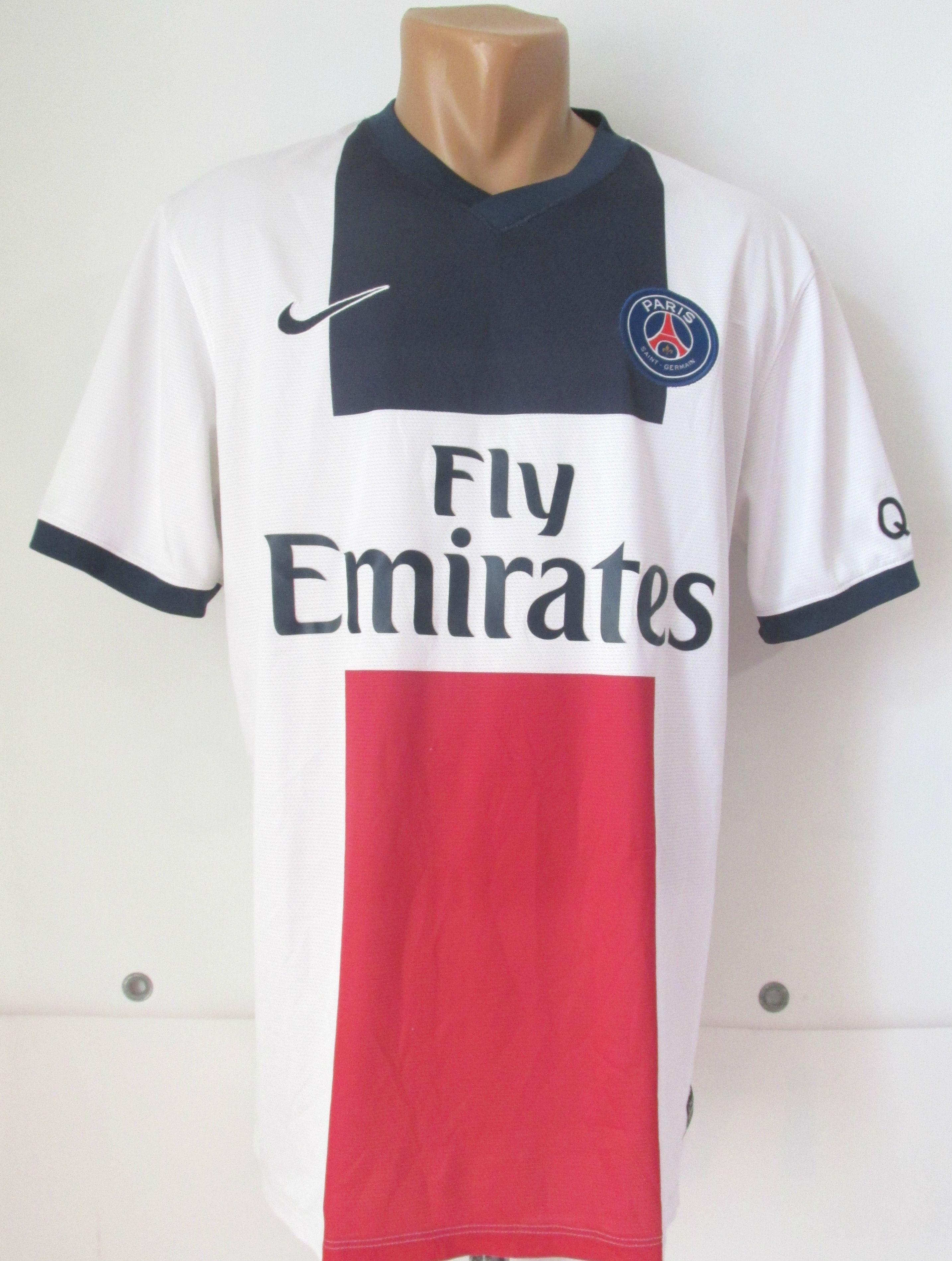 6d334d22c Paris Saint-Germain 2013 2014 away football shirt by Nike PSG soccer  maillot jersey France  PSG  Paris  ParisSaintGermain  maiilot  nike  France  ...