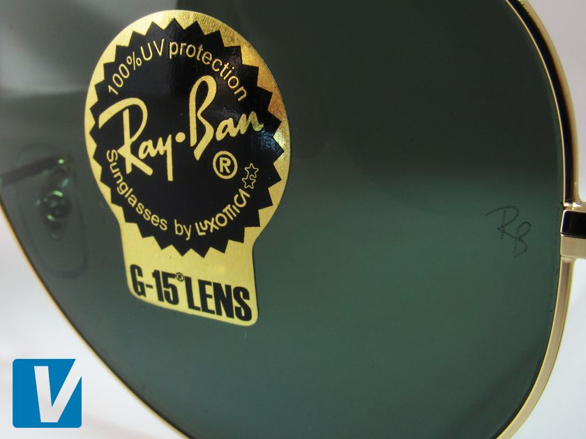 f8ce8fb5227 New Ray-Ban sunglasses feature a sticker on the lens. The sticker features  the