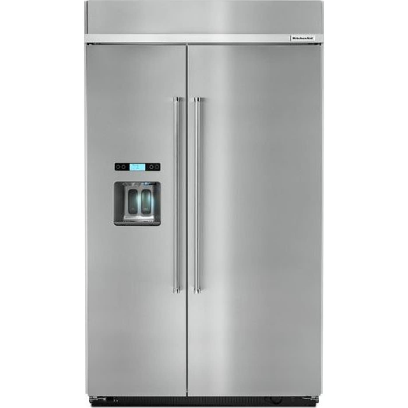 Kbsd608ess by kitchenaid sidebyside refrigerators
