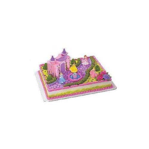Disney Princess Castle Cake Kit cakepinscom Stuff to Buy