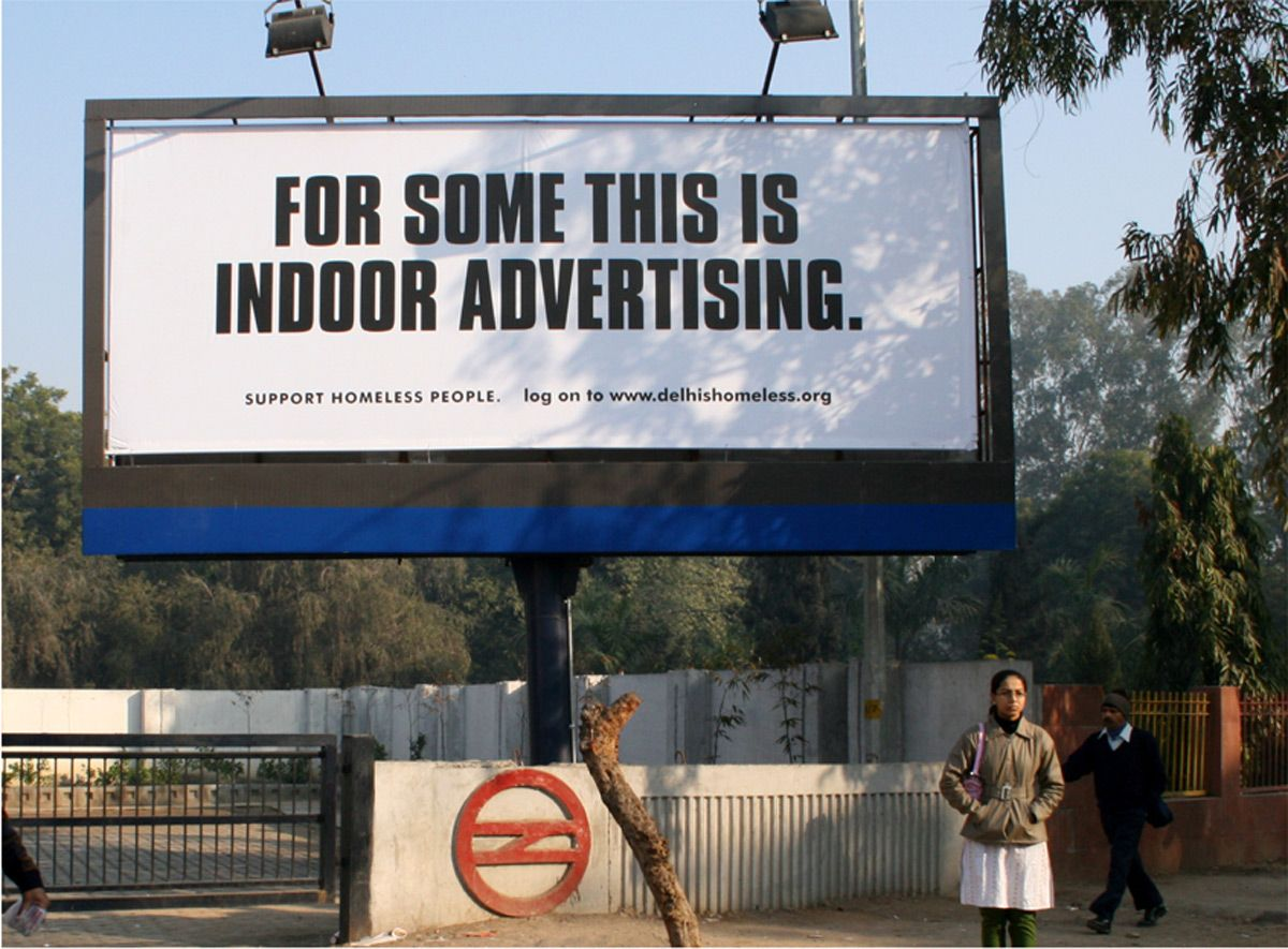 Clever Outdoor Advertising