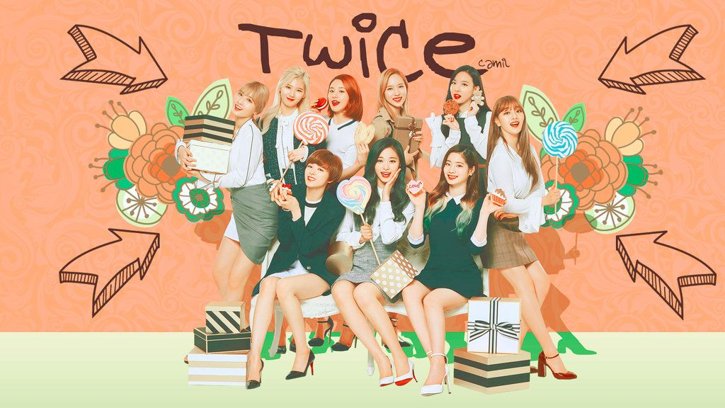 Twice wallpaper 1920x1080 by iamtotodile kpop pinterest twice wallpaper 1920x1080 by iamtotodile stopboris Image collections