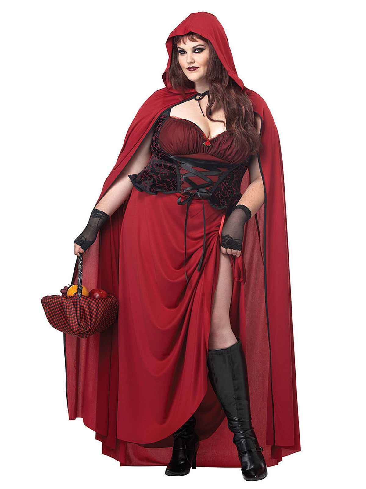 Disfraz De Halloween Caperucita Gotica Mujer Disfraces Tallas Grandes Disfraces Para Gorditas Disfraz Caperucita Roja