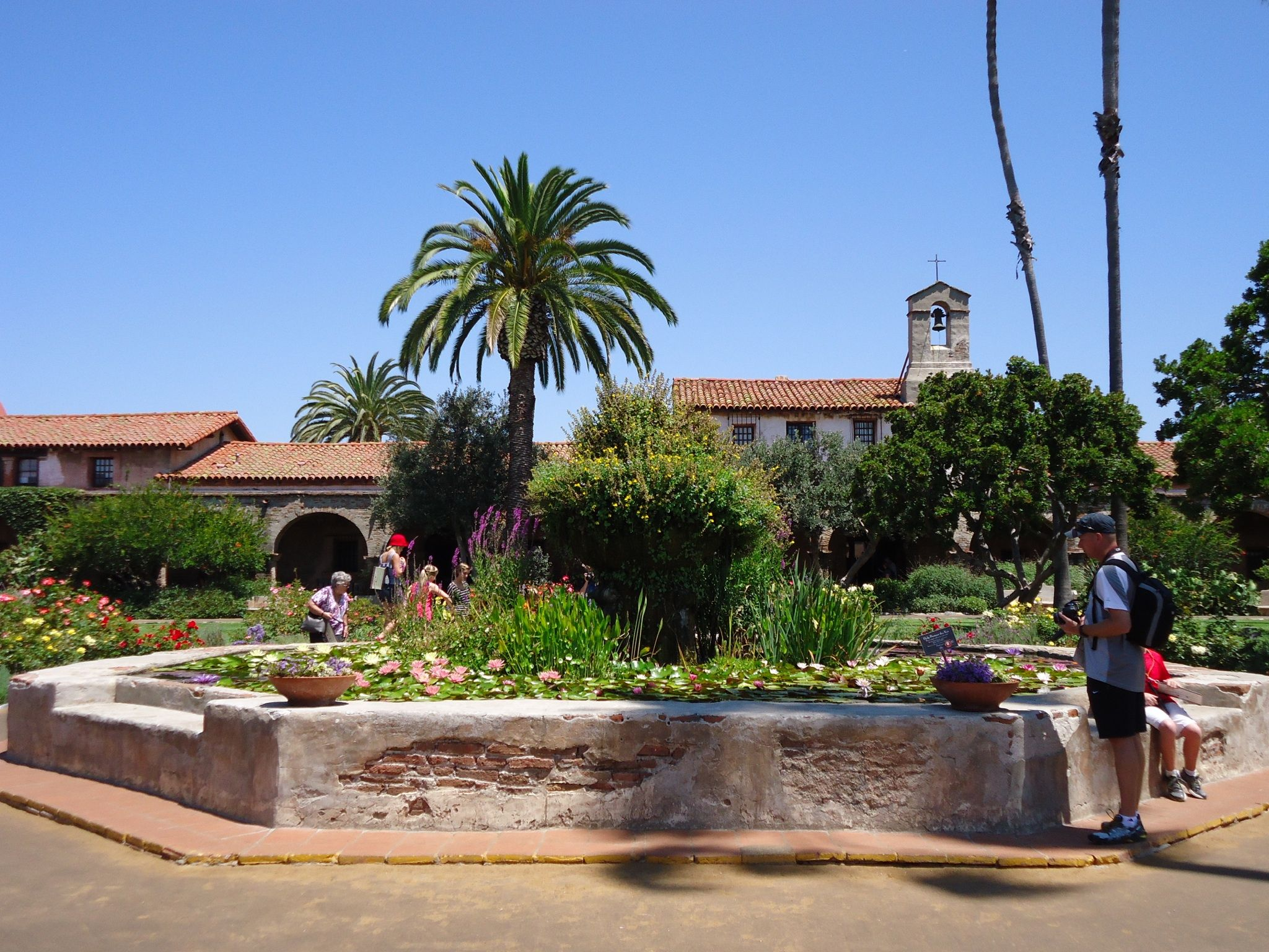 The mission, San Clemente.