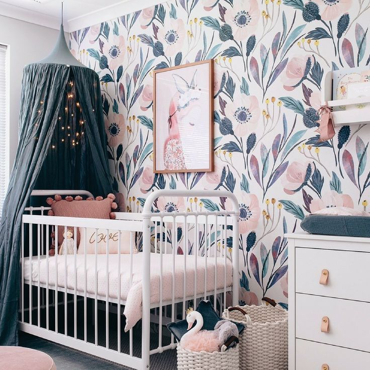 Florals...? For Spring? Yes, Ma'am! - Project Nursery