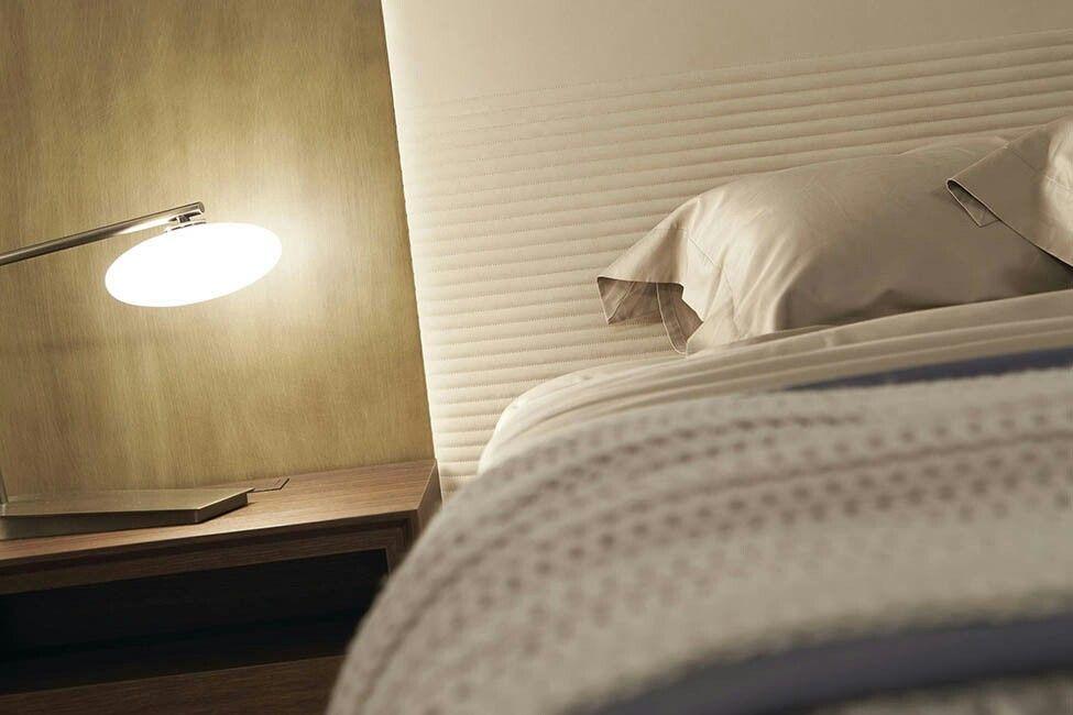 #bed #bedroom #headboard #furniture #design #interiordesign #madeinitaly