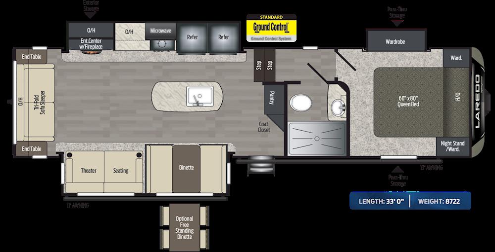 Keystone Passport Travel Trailer Floor Plans