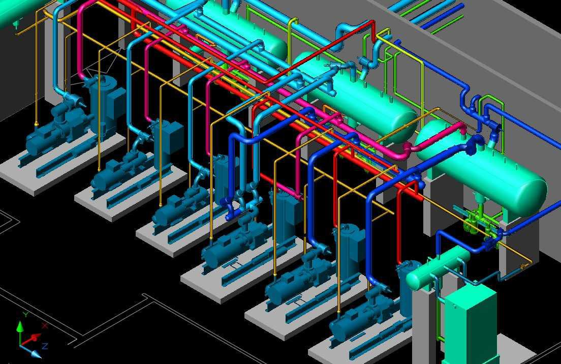 Found on Bing from elsalvadorla.org   Technical drawing, Isometric drawing,  Mechanical room   Hvac Isometric Drawing      Pinterest