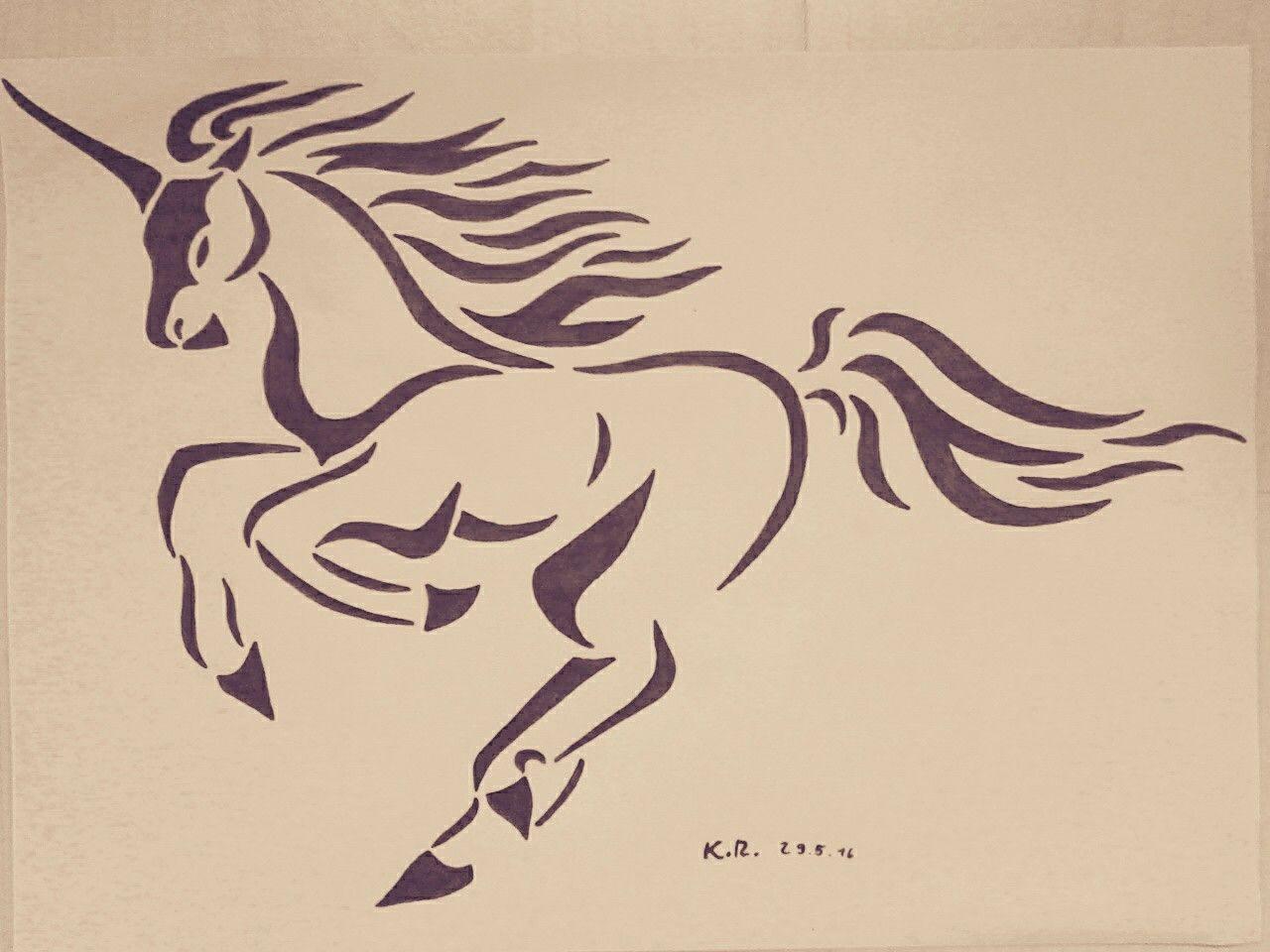 Tribal Unicorn Tatoo Unicorn Tattoos Pegasus Art Celtic Unicorn