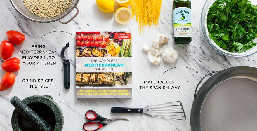 The Mediterranean Kitchen Recipes Cooking Equipment Cookbook