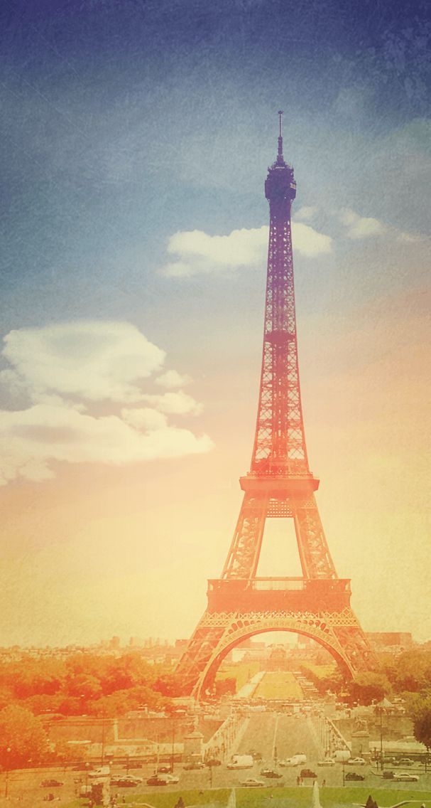 Beautiful pic of the Eiffle tower