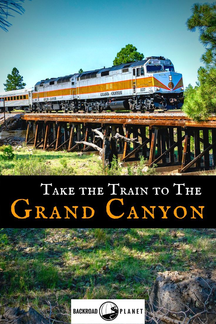 train to Grand Canyon National Park