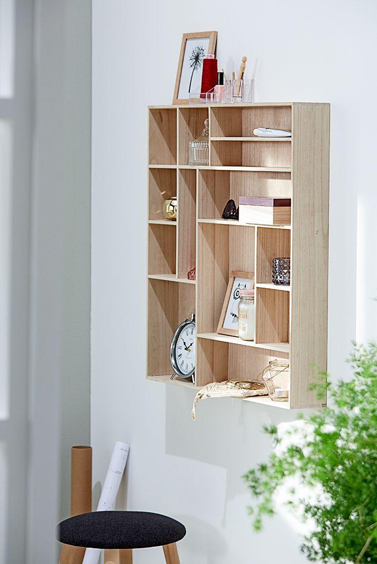 Ilbro Shelf Scandinavian Living Home Office Furniture Shelves Wall Shelves