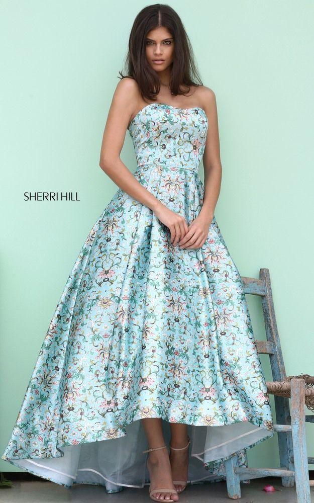 Floral Prom Dress 2018 Sherri Hill