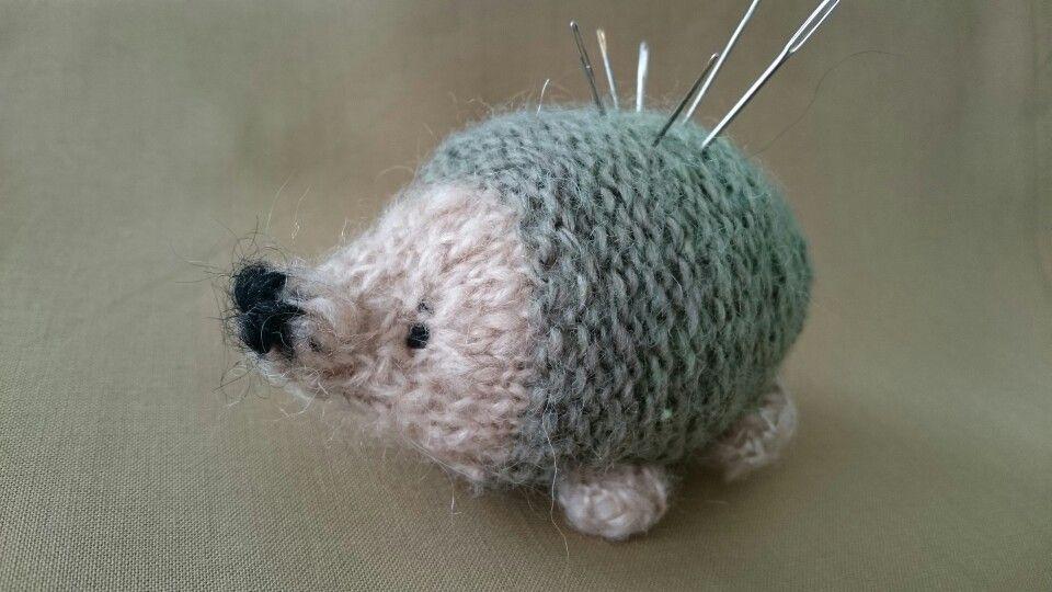 Made Julie williams little hedgehog so cute..
