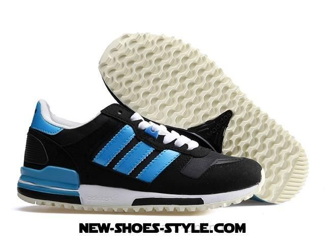 2017 Must-Have ADIDAS ZX 700 Woman Black / blue /White