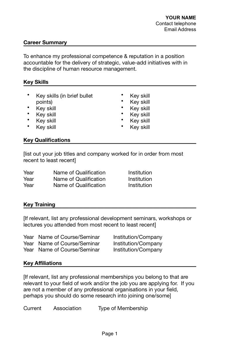 How To Write A Resume For A Job With Visa Sponsorship For Australia Resume Job Apply Job