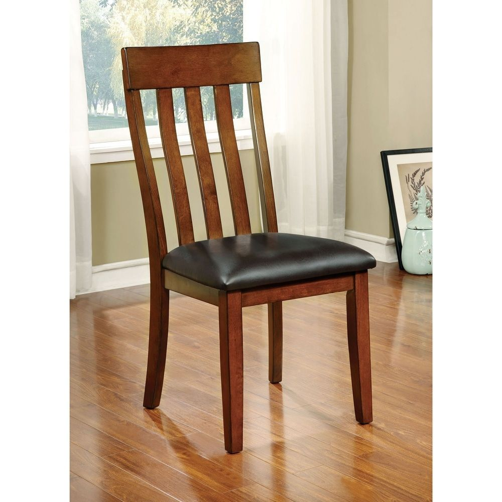 20+ Solid wood brown polyurethane dining chairs set of 2 Best Seller