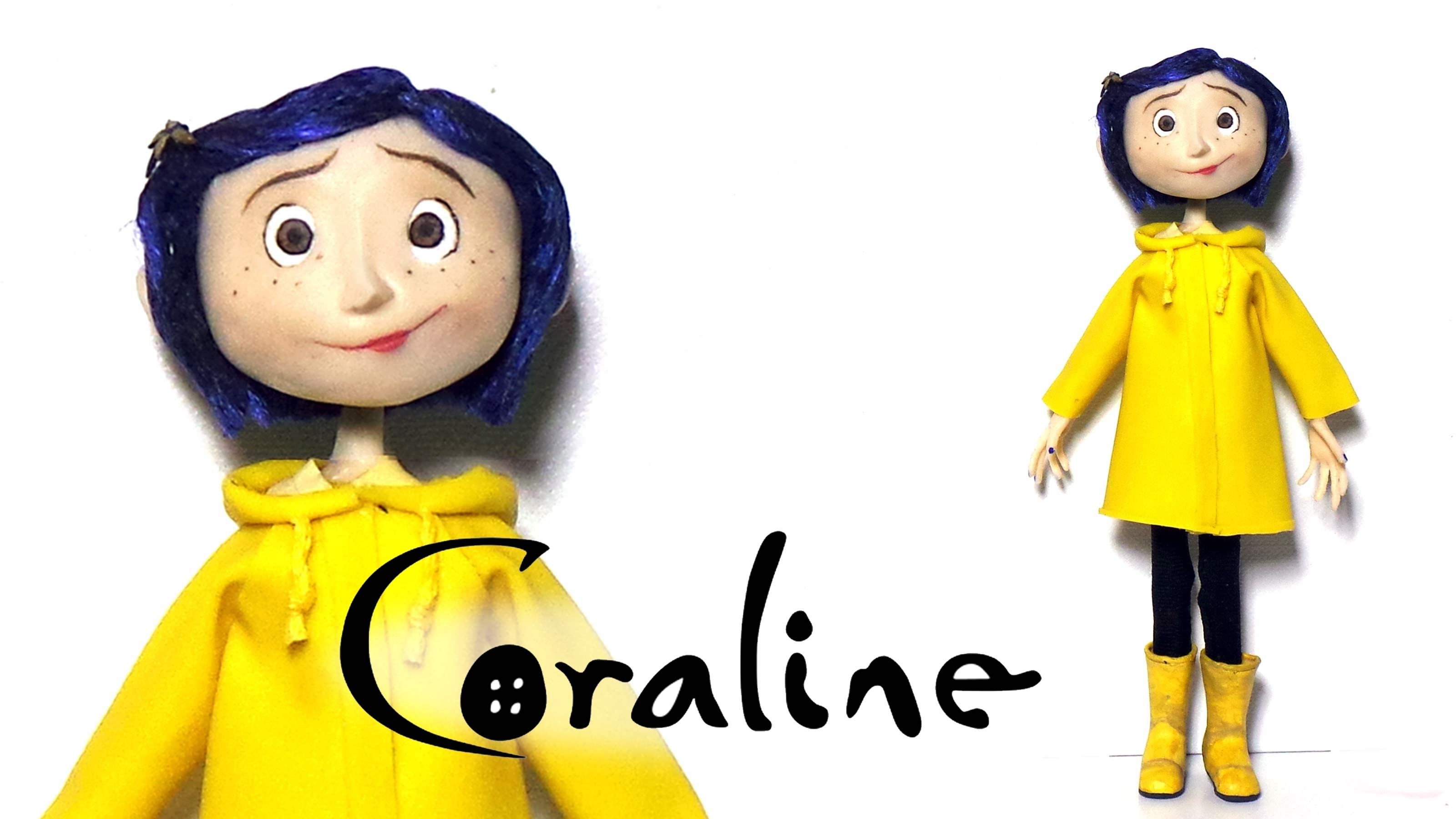 Coraline Inspired Poseable Doll Polymer Clay Tutorial Polymer Clay Tutorial Coraline Coraline Doll