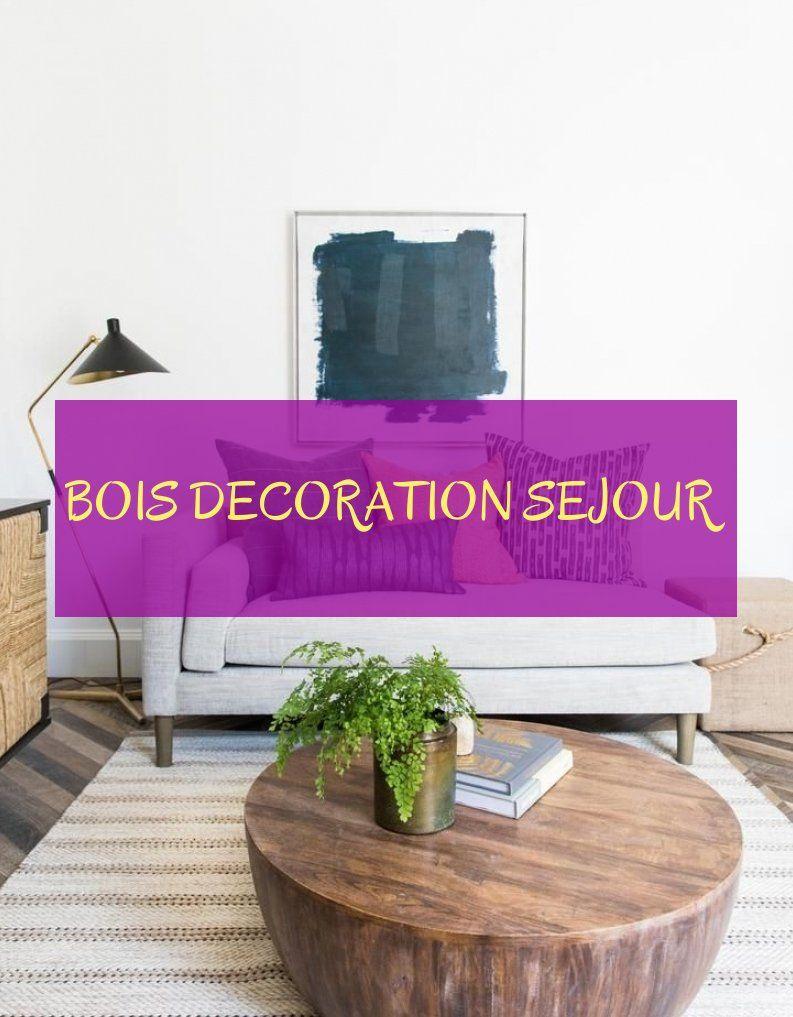 Bois decoration sejour