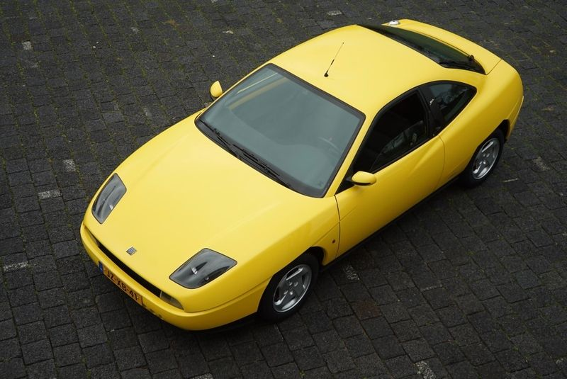 Fiat Coupe 2 0 16v Les Voitures Fiat Vehicles