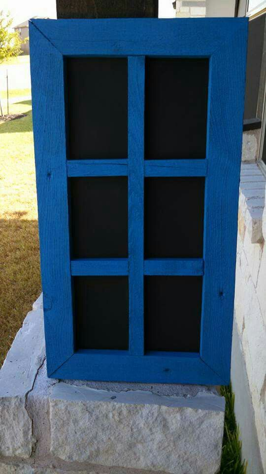 Barnwood Frame Painted Turquoise Holds 6 4x6 Pictures My Rustic