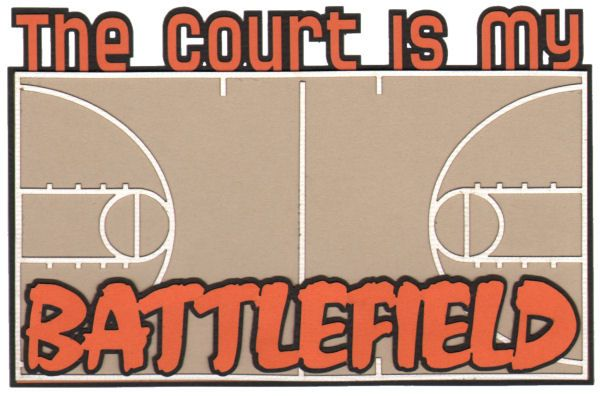 Playoffs are going on now! If you're going to a game, this is a great die cut!