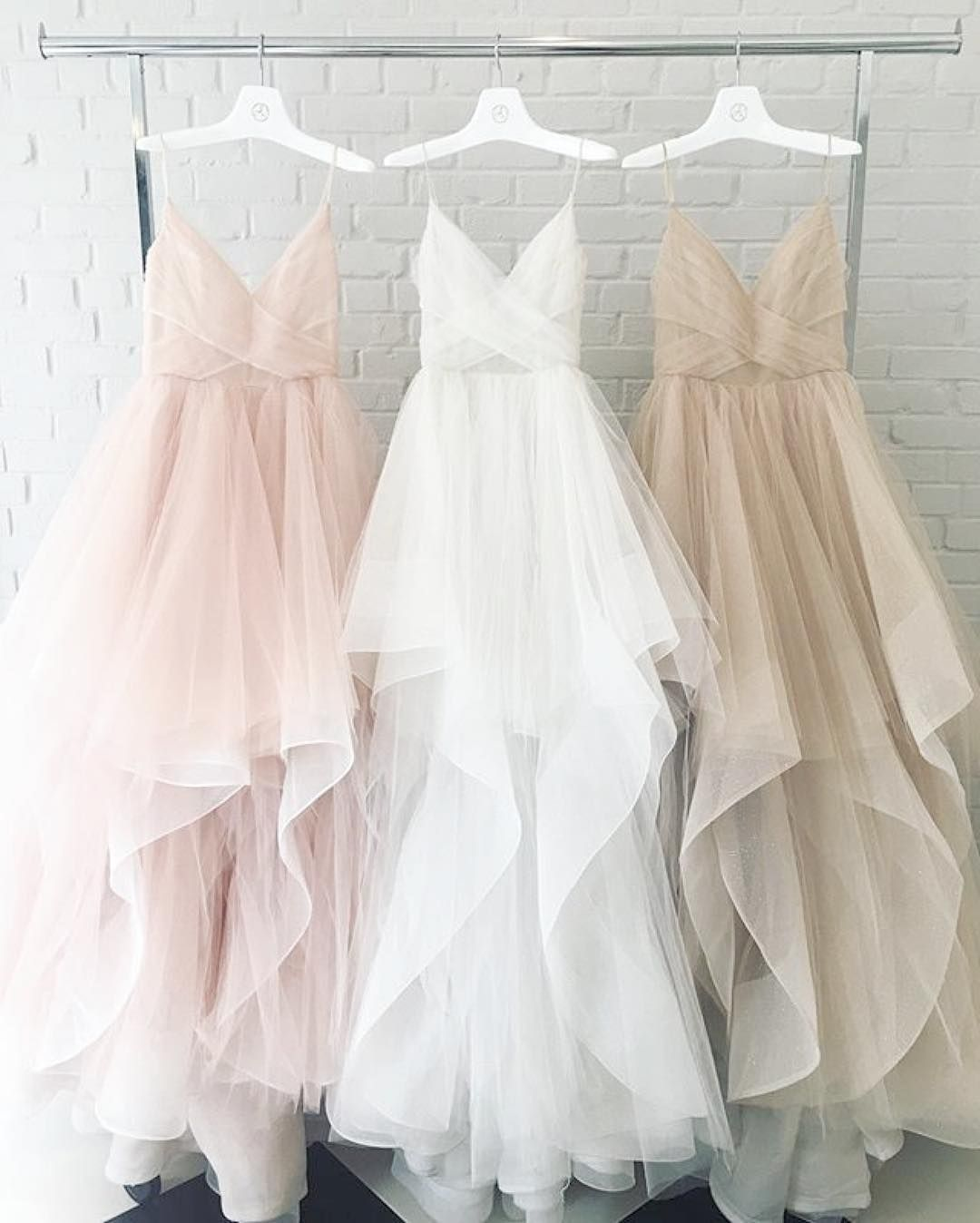Indoor A Line Tulle Wedding Bridal Spaghetti Comments Hayley Paige On Rose Coloured Lace Wedding Dress Rose Colored Wedding Gown