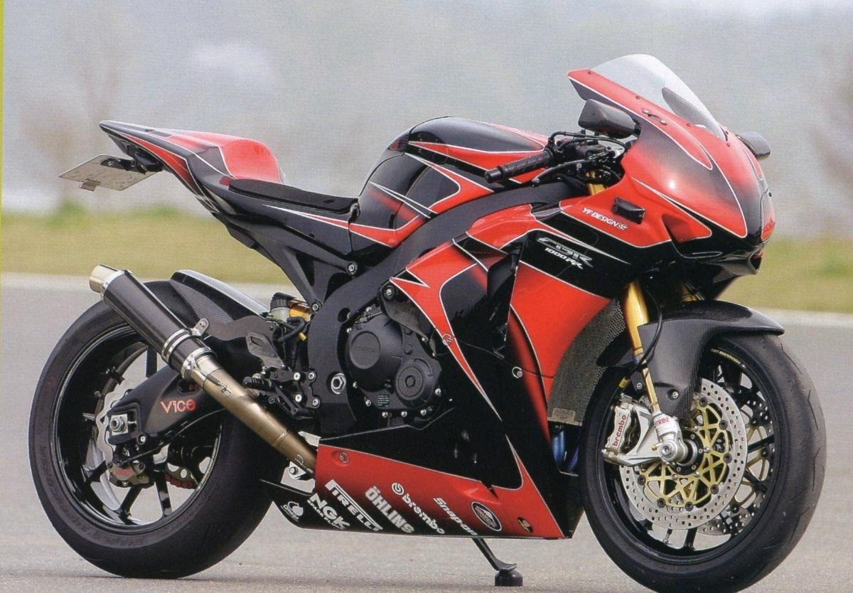 2nd generation 1000cc 'Blade (With images) Sport bikes