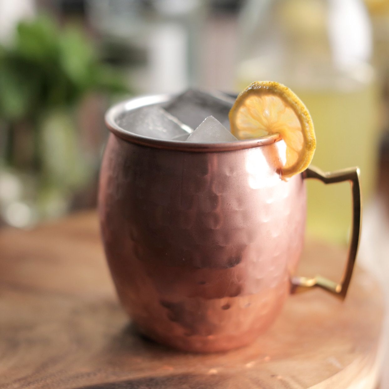 Lemon Moscow Mule Recipe in 2020 Food network recipes