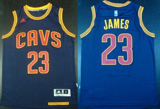 buy popular d2e58 173b4 Cleveland Cavaliers #23 LeBron James Revolution 30 Swingman ...