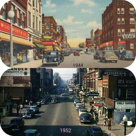 1944 1952 Downtown Owensboro Ky