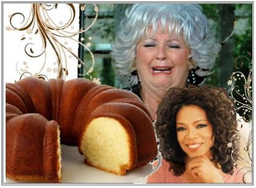 Recipe Paula Deen S Sour Cream Pound Cake Feat On Oprah Sour Cream Pound Cake Pound Cake Sour Cream