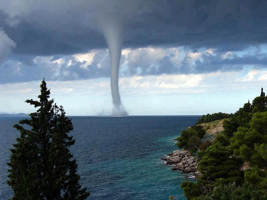 Waterspout in Hawaii