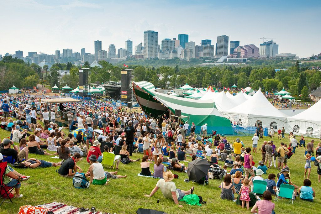#Edmonton is widely known as Canada's Festival City! A variety of festivals are held throughout the year that celebrate arts, culture, sports, film, theatre and music - including Canada's largest #folk #music festival. (Photo: City of Edmonton)