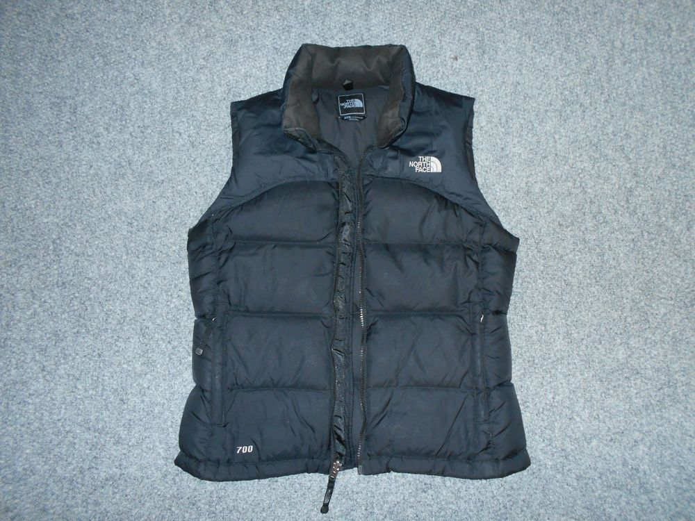THE NORTH FACE 700 DOWN FILL WOMENS MEDIUM BLACK VEST