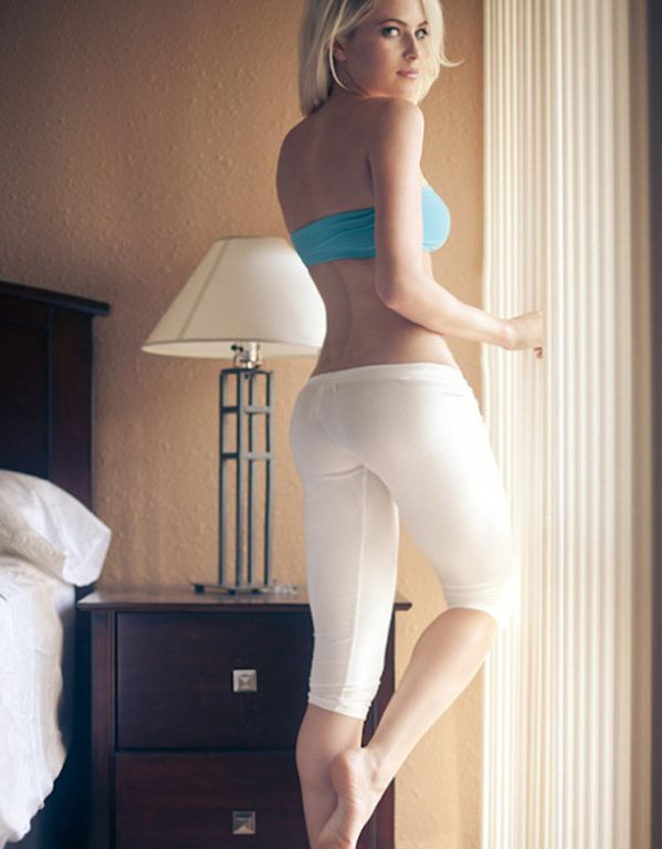 Sex nude front yoga pants nude