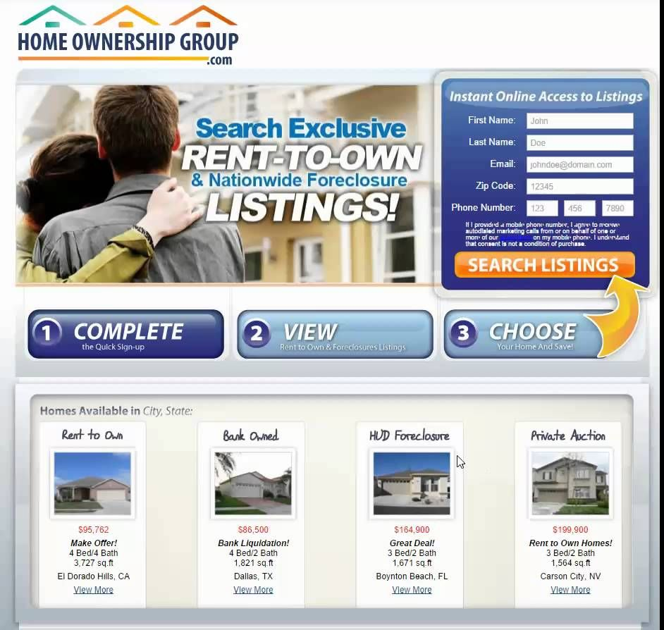 Check out this video about where to find rent to own homes by owner ...