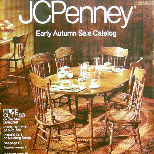 Jcpenney Home Store Locator: VTG 1981 Fall Sale JCPENNEY Catalog Fashion Mens/womens